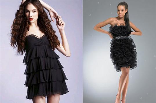 Фото. Черное платье. Вариант.