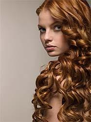 Химическая завивка волос. Фото.