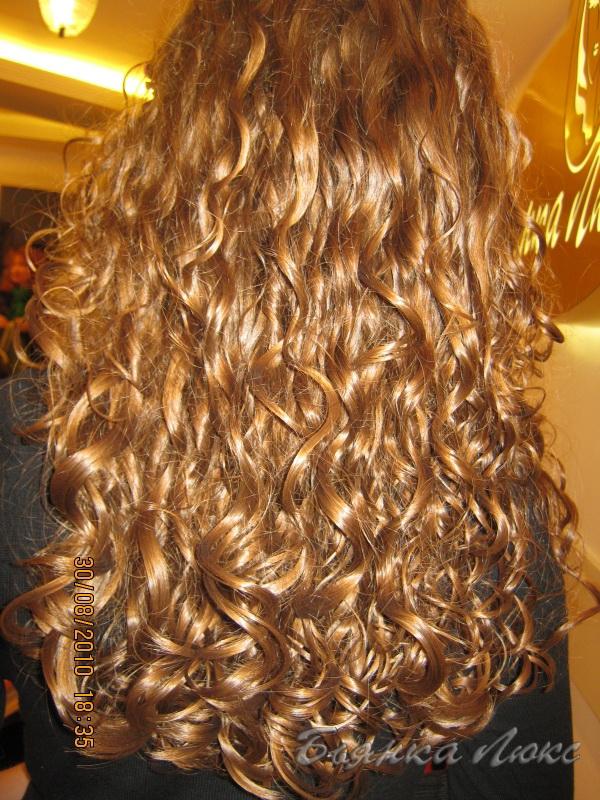 химическая завивка волос виды фото