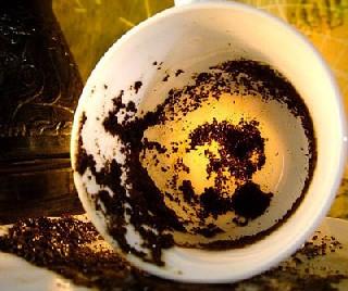 Ингрединты кофейного скраба.