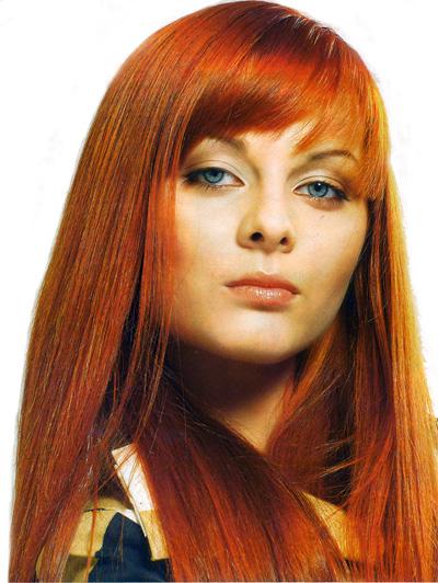 Как красить волосы. Фото.