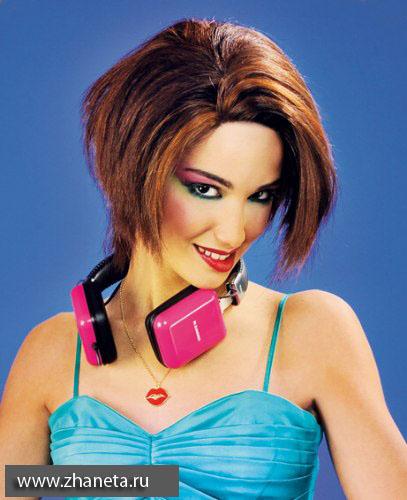 Модный в 2012 цвет волос.