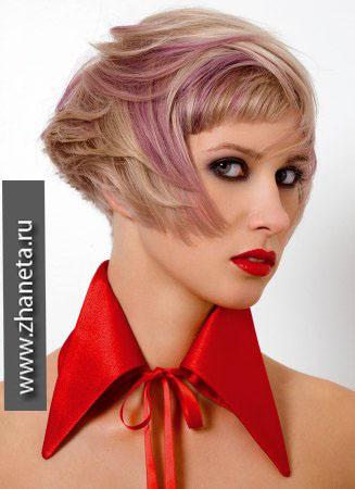 Модный в 2014 цвет волос.