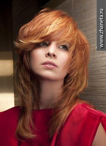 Модный в 2013 цвет волос.
