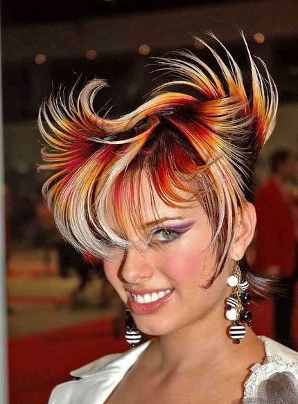 Окрашивание волос 2013, фото. Краска Лореаль.
