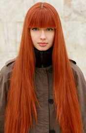 Фото цвет волос рыжеволосая.
