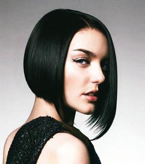 Черный цвет волос, фото, как покрасить и смыть.