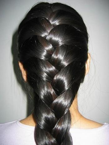 Французкая коса. Варианты. Фото.
