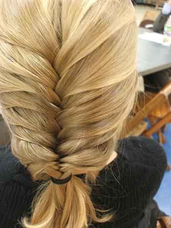 Красивая коса. Фото.