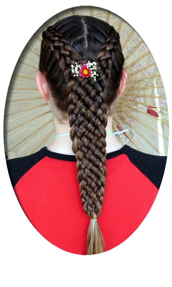 Прическа коса. Фото