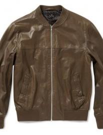 Кожаные куртки бомбер 2013.