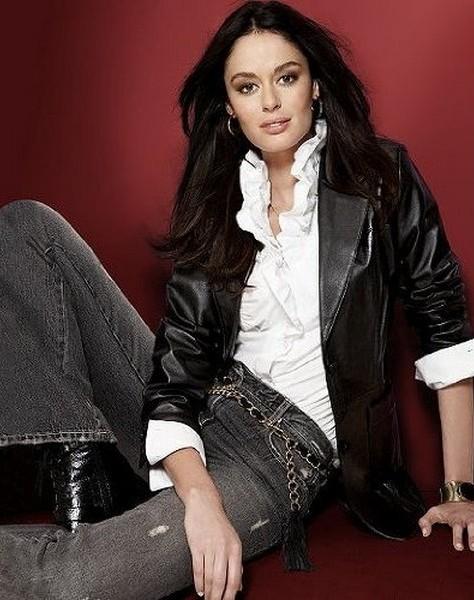 Женские кожаные куртки.