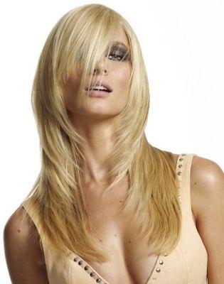 Косы, челки  на длинные волосы.Фото.