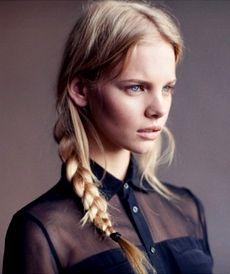 Косы на длинные волосы.Фото.