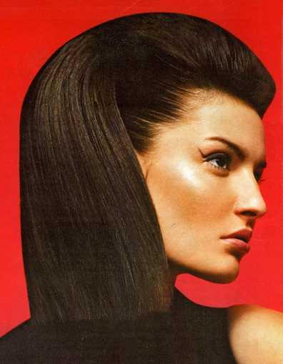 Прически вамп на длинные волосы.Фото.
