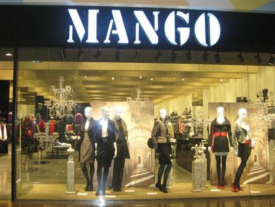 Магазины Mango.
