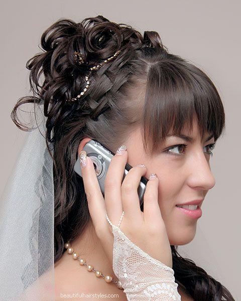 свадебные прически ноябрь 2011