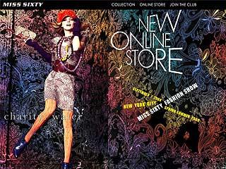 Интернет магазин  Miss Sixty