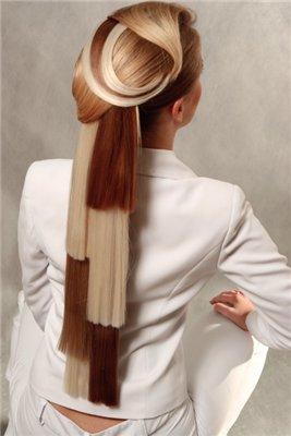 Фото. Модный цвет волос.