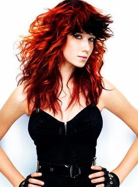 Фото 2011. Модный цвет волос.