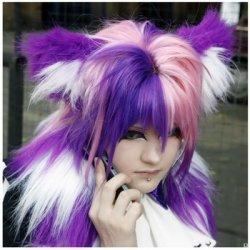 Модный цвет волос - 2011. Фото.