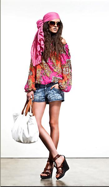 Монтон женская одежда весна лето 2011