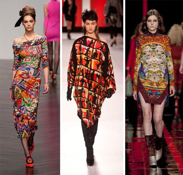 Модные абстрактные узоры.