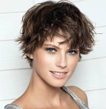 Тонкие, короткие волосы