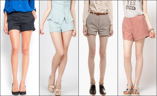 Классические шорты на лето 2013