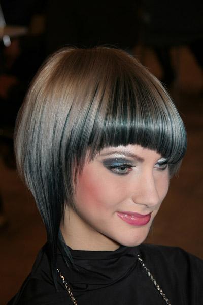 Стрижка боб на тонкие волосы.